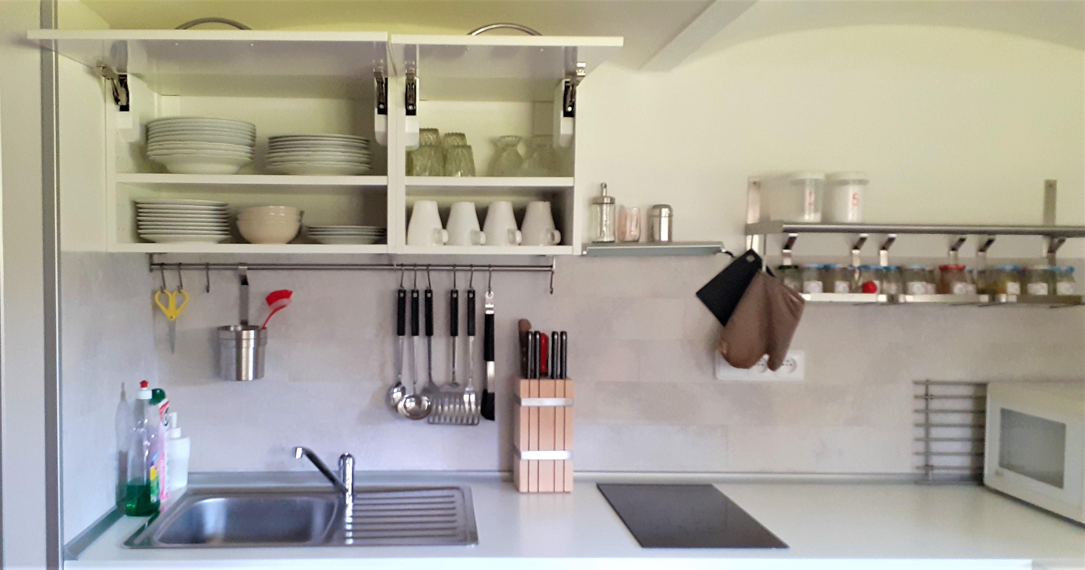 Vybavení kuchyně Vila Slavonice