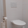 Oranžová koupelna